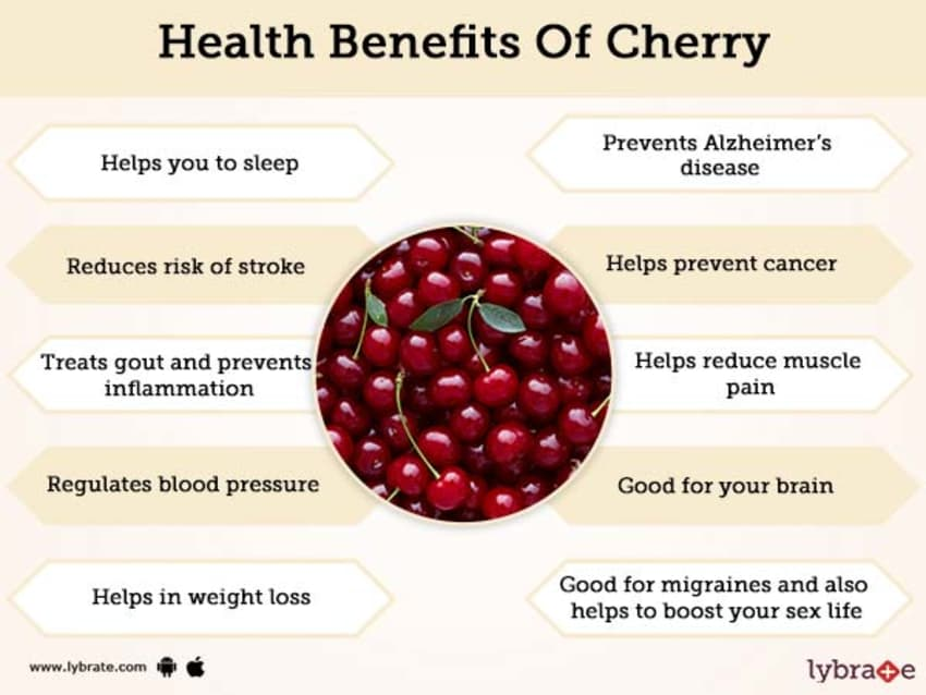 Cherry Benefits And Its Side Effects Lybrate