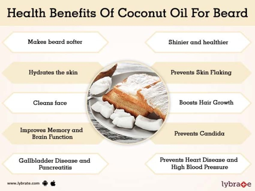 Benefits of Coconut Oil For Beard And Its Side Effects | Lybrate