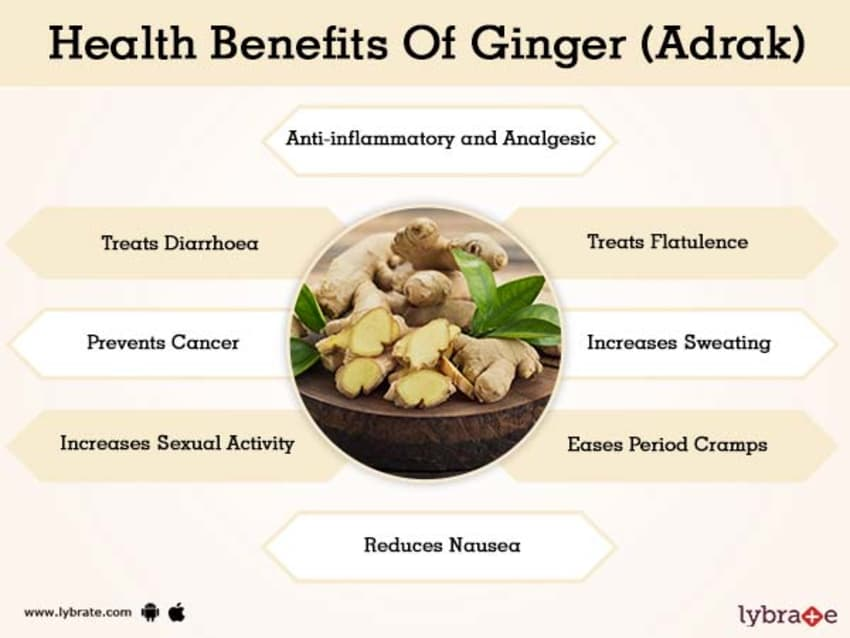 Ginger (Adrak) Benefits And Its Side Effects | Lybrate