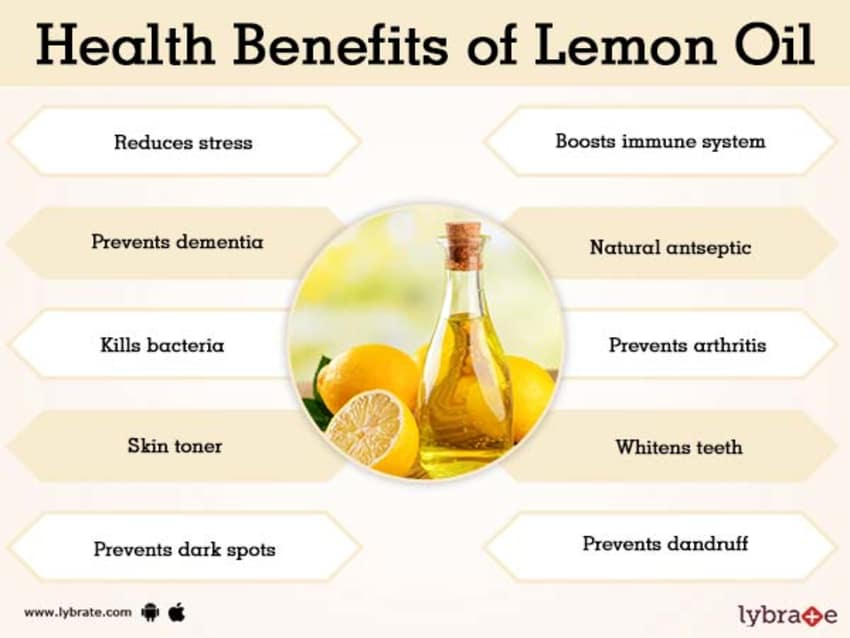 Benefits of Lemon Oil And Its Side Effects   Lybrate