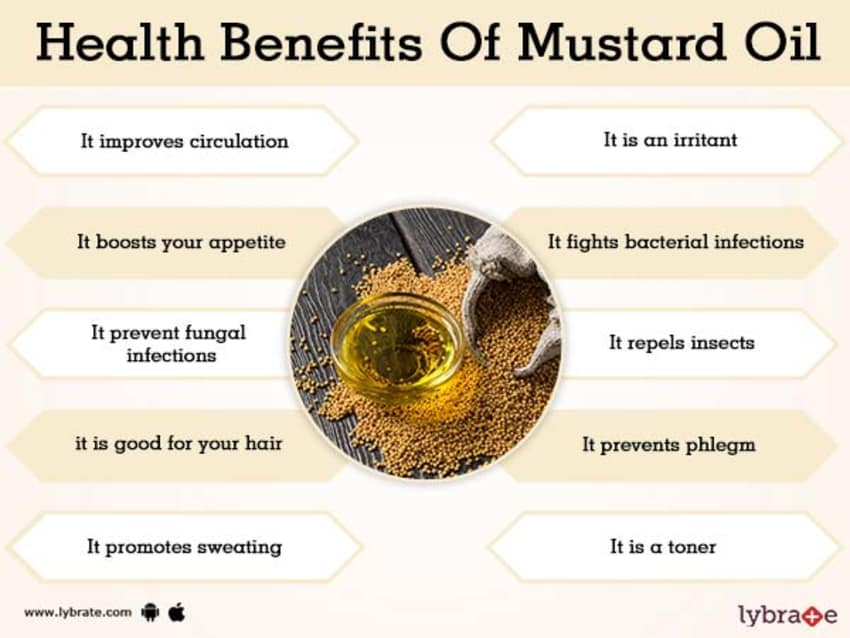 Benefits of Mustard Oil And Its Side Effects | Lybrate