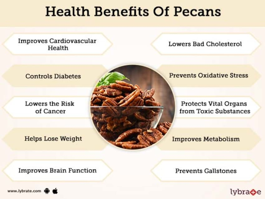 Benefits of Pecans And Its Side Effects