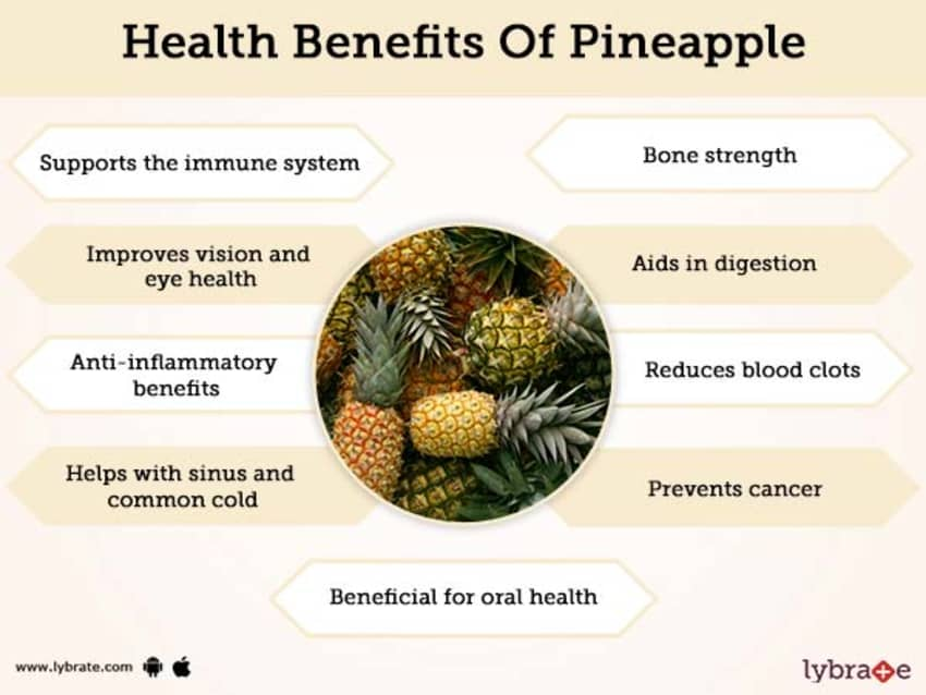 Pineapple Benefits And Its Side Effects | Lybrate