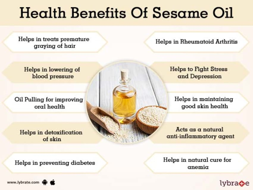 Benefits of Sesame Oil And Its Side Effects | Lybrate