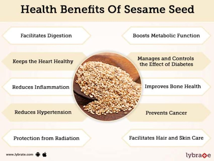Benefits of Sesame Seed And Its Side Effects | Lybrate