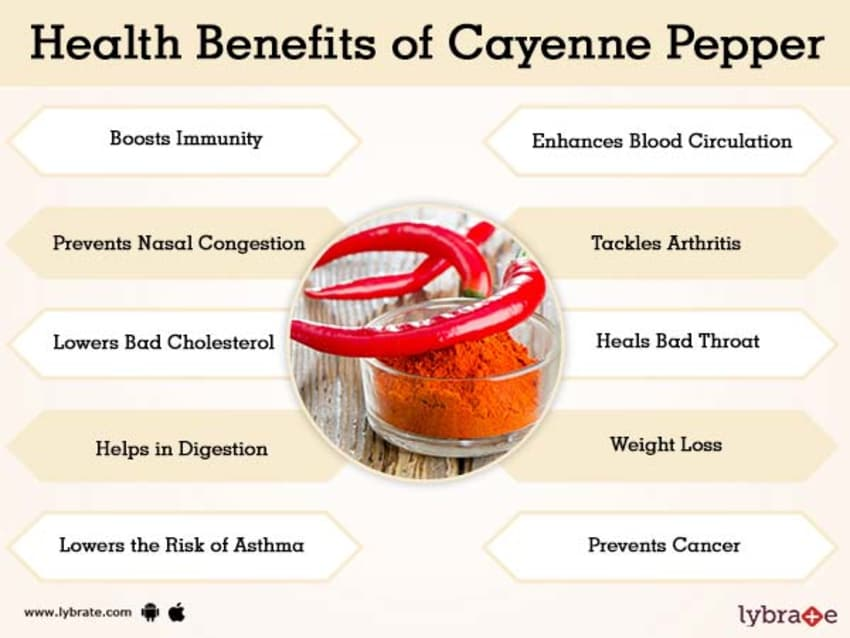 Cayenne Pepper Benefits And Its Side Effects | Lybrate