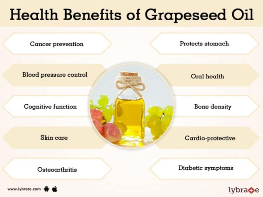 Grapeseed Oil Benefits And Its Side Effects | Lybrate