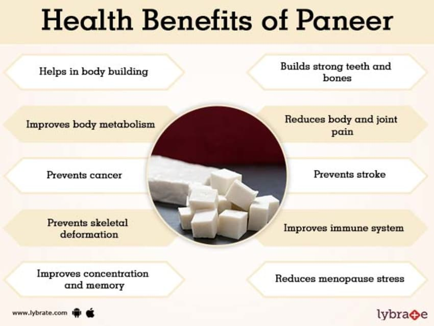 Paneer Benefits And Its Side Effects Lybrate