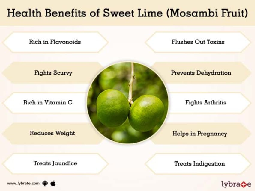 Sweet Lime (Mosambi Fruit) Juice Benefits | Lybrate