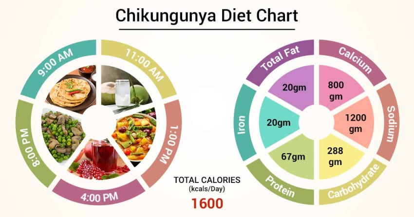Treatment for Chikungunya through these Foods