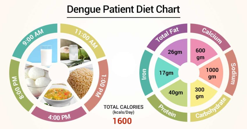 Diet Chart For dengue Patient, Diet For Dengue chart | Lybrate