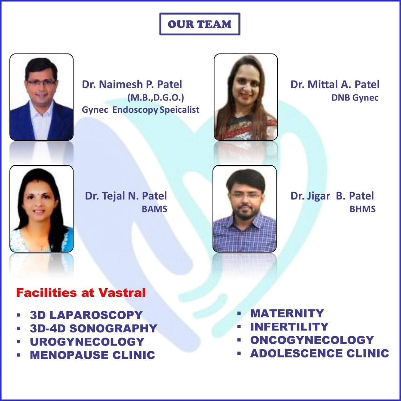 Top Gynecologist in Ahmedabad - Book Appointment, View Fee