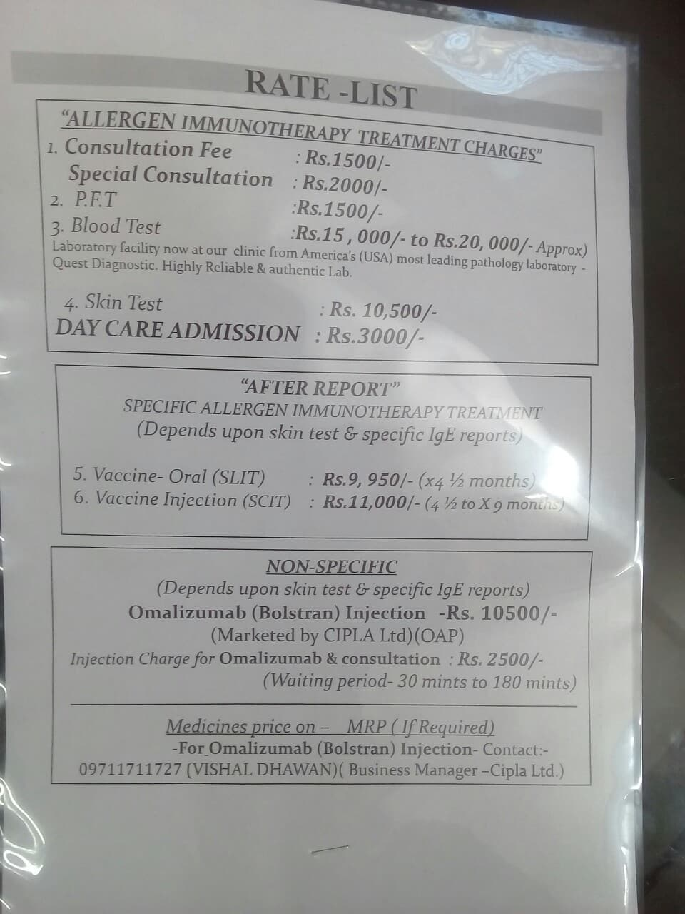 Chest Physicians in Holy Family Hospital, Delhi - Book