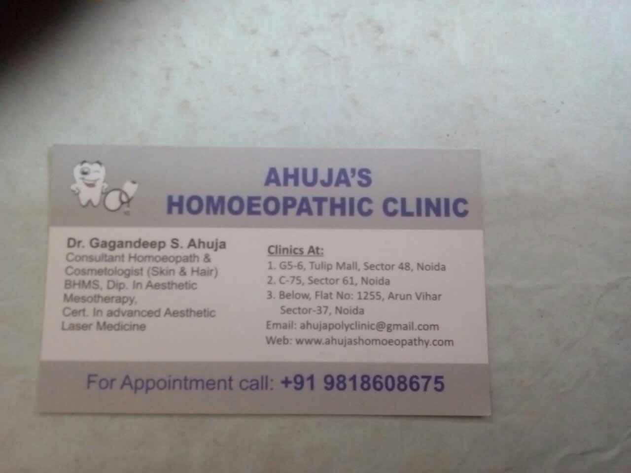 Homeopath Doctors in Sector-30, Noida - Book Instant