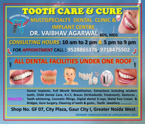 3c6643442 Teeth Cleaning Doctors in Greater Noida - View Cost, Book Appointment,  Consult Online